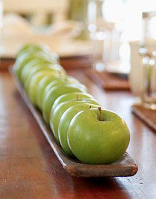 manualidades manzanas