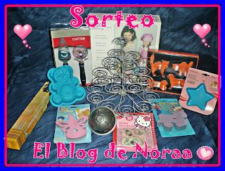 Sorteo en El blog de Noraa