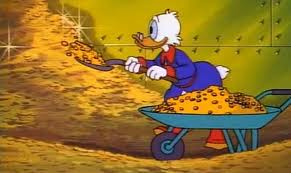 Scrooge mcduck cash vault awesome