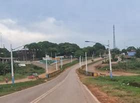 Entrada leste da cidade de Uruará