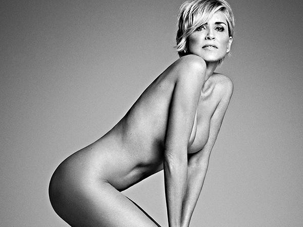 Sharon Stone causa hemorragia cerebral com nudez