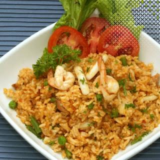 Resep Cara Membuat Nasi goreng Seafood