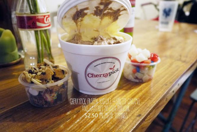 Cambridge Hotel Sydney Cherrypick Frozen Yoghurt