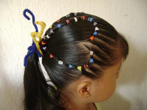 Peinado para niña Curso #4 (El corazon) YouTube - Cursos De Peinados Para Niña