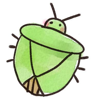 カメムシのイラスト(虫)