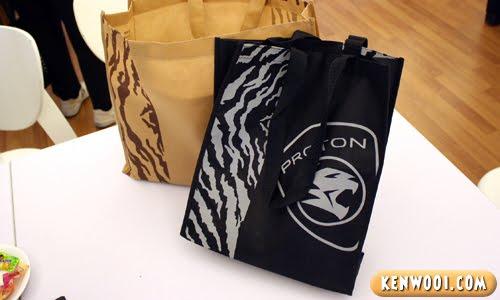 proton exora gift bags