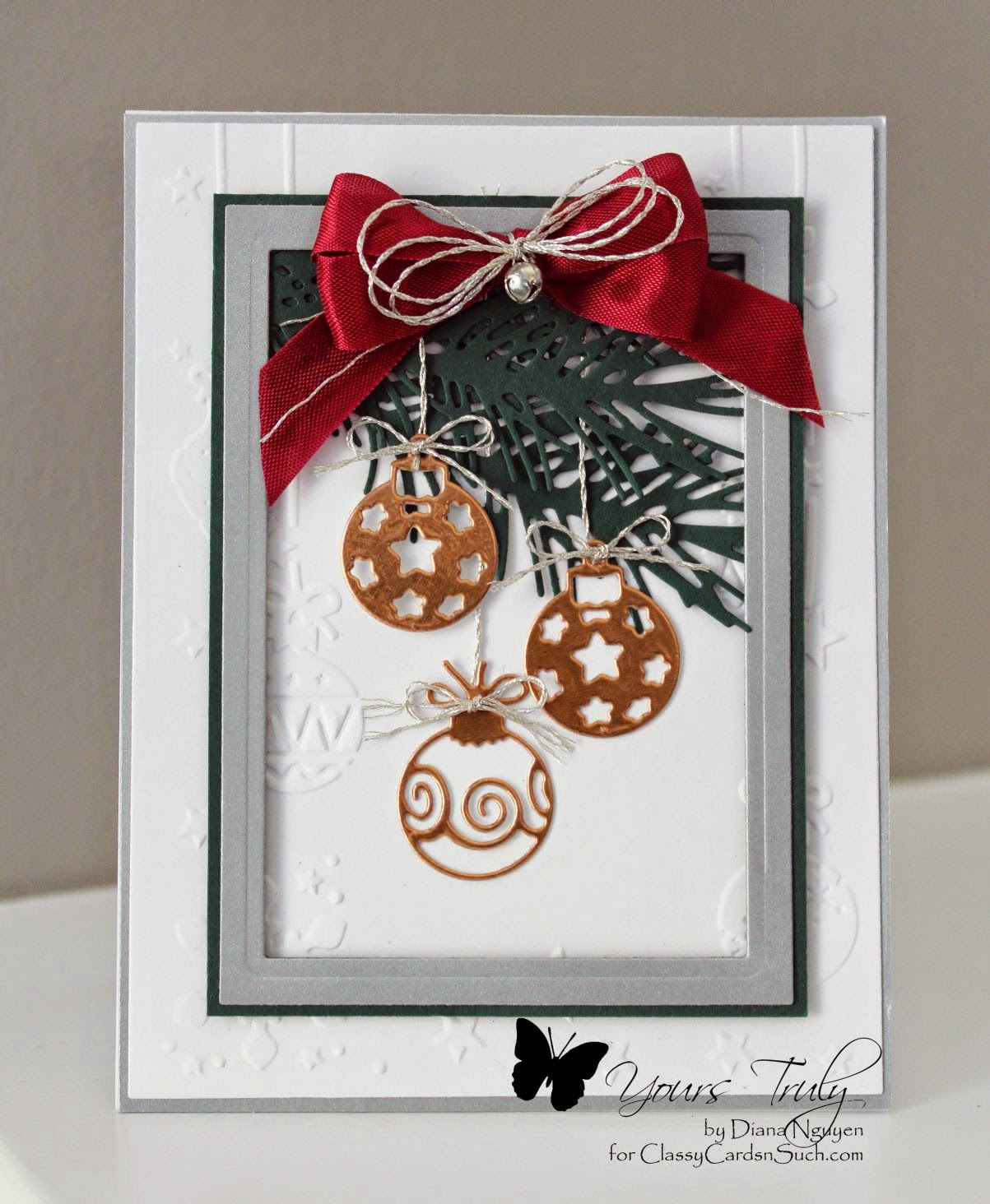 Diana Nguyen, Christmas, Impression Obsession Christmas Icons, Pine branch