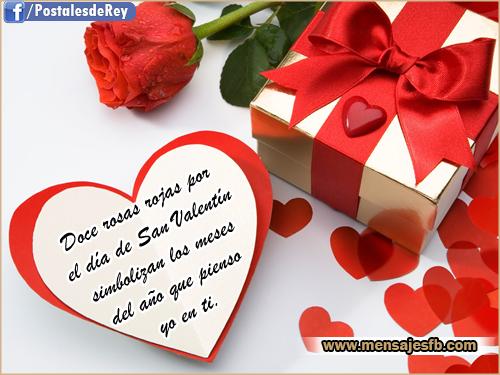 Tarjetas romanticas para san valentin mensajes para amor - Postales dia de san valentin ...