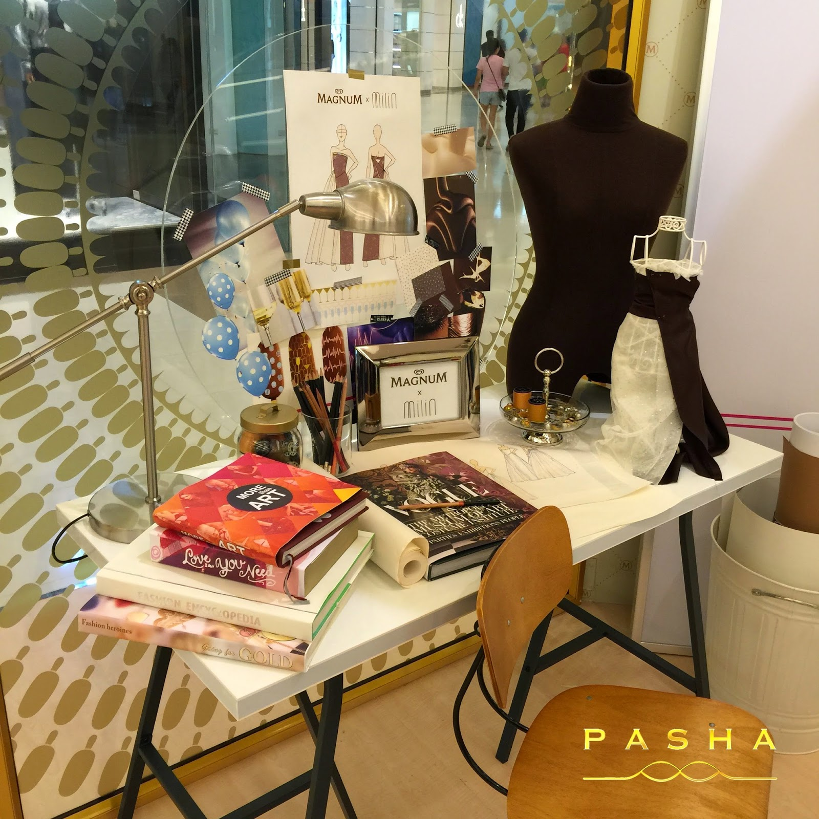 Luscious lifestyle magnum pop up pleasure store siam for Magnum pop up shop