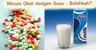 Mengapa Minum Obat Gak Boleh dibarengin Minum Susu?