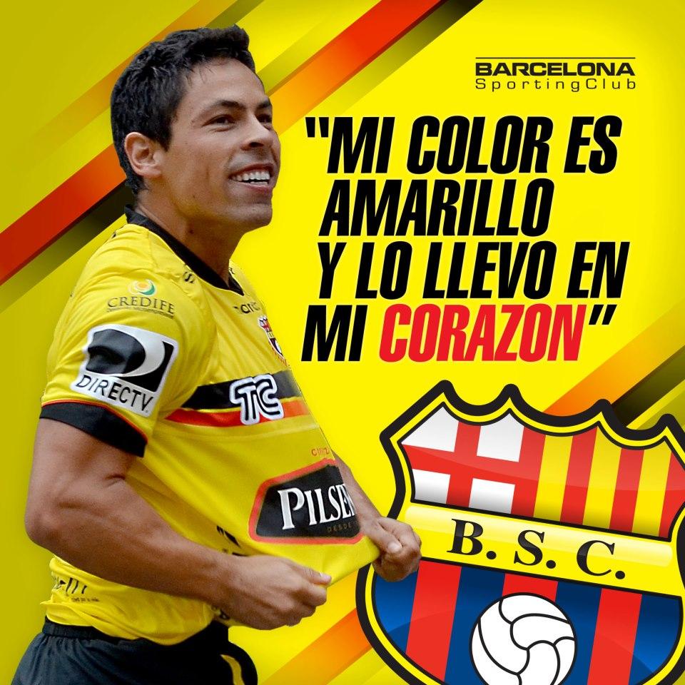 Afiches Carteles De Barcelona Sporting Club Guayaquil Ecuador