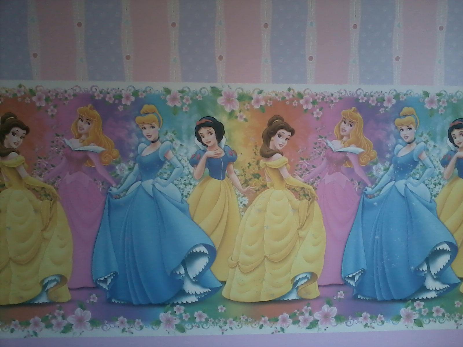 Acessorios Para Quarto Das Princesas ~   PAREDE CURITIBA PAPAEL DE PAREDE PARA QUARTO DE MENINAS  PRINCESAS