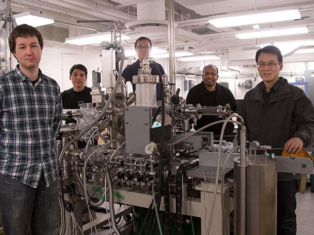 Zahid Hasan Team - Princeton University - photo: Danielle Alio