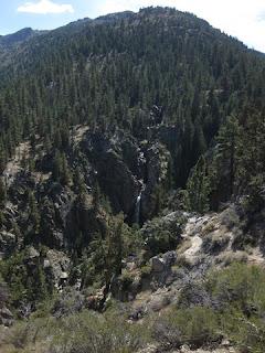 Leavitt Falls, east of the Sonora Pass, California