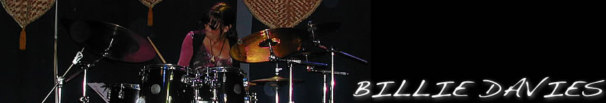 Billie Davies, Jazz Drummer