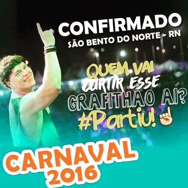 CARNAVAL DE SÃO BENTO DO NORTE/RN 2016