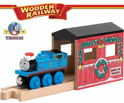 Learning Curve Thomas & Friends Wooden Railway Holiday Tunnel Set Exclusive Christmas Thomas Train