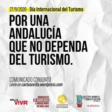 DÍA INTERNACIONAL DEL TURISMO. COMUNICADO CONJUNTO.