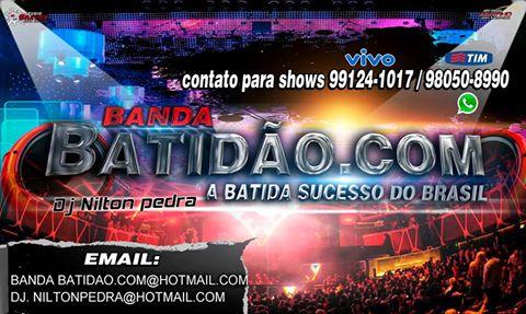BANDA BATIDÃO.COM - ME CALEI TECNOMELODY DJ-NILTON PEDRA