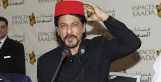 Shahrukh Khan at Espaces Saada Press Conference in Casablanca