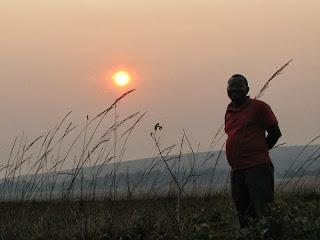 Don Jean Michel nel frattempo vi regala un tramonto congolese!