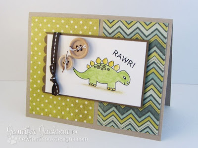 Dinosaur Card using Prehistoric Pals Stamp set