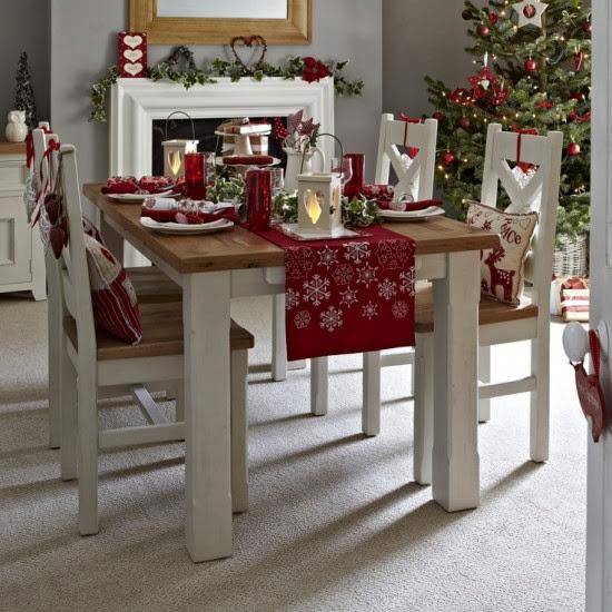 Ideas para una decoraci n moderna en navidad decoraci n - Como hacer decoracion navidena para el hogar ...