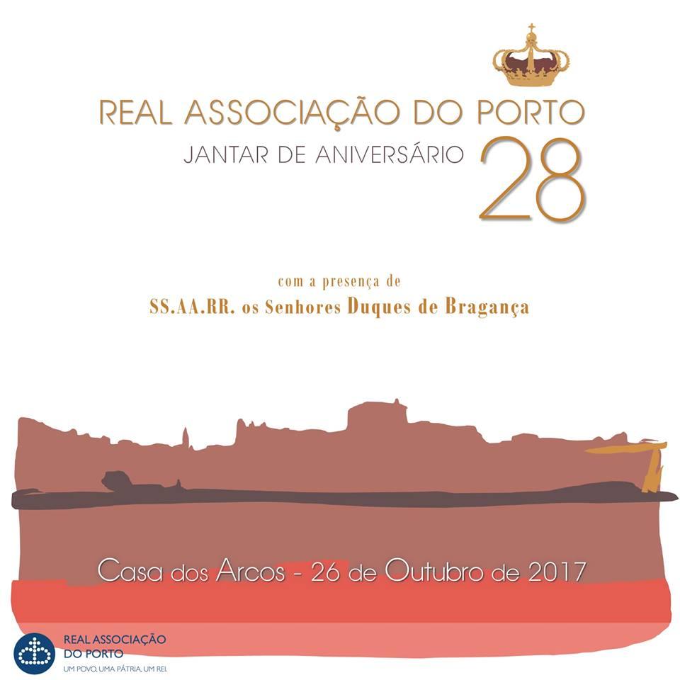 28.º ANIVERSÁRIO DA REAL ASSOCIAÇÃO DO PORTO