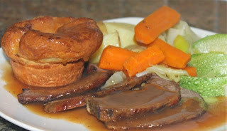 BRISKET OF BEEF & YORKSHIRE PUDDINGS