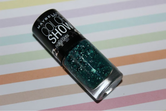 Maybelline Color Show Polka Dot Rain Forest Canopy Nail Polish 