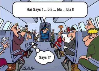 kartun di pesawat