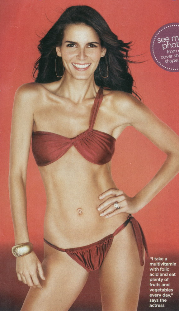 Angie Harmon Swimsuit | Car Interior Design