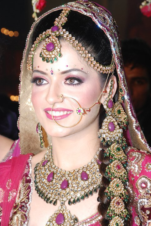 You can see long range of colors in Indian wedding dresses