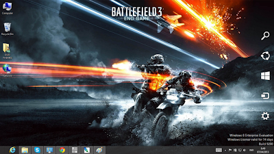 Battlefield 3 Theme For Windows 7 And 8