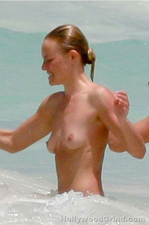 from Hamza kate bosworth nude beach