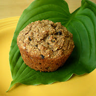 Healthy Happy Banana Muffins - High Fiber, Low Fat Recipe