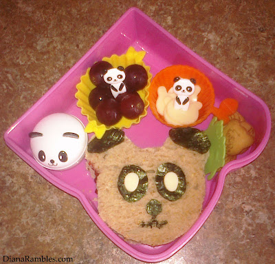 fun panda lunch bento