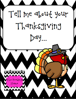 http://www.teacherspayteachers.com/Product/Tell-me-about-your-Thanksgiving-DayFREEBIE-961071