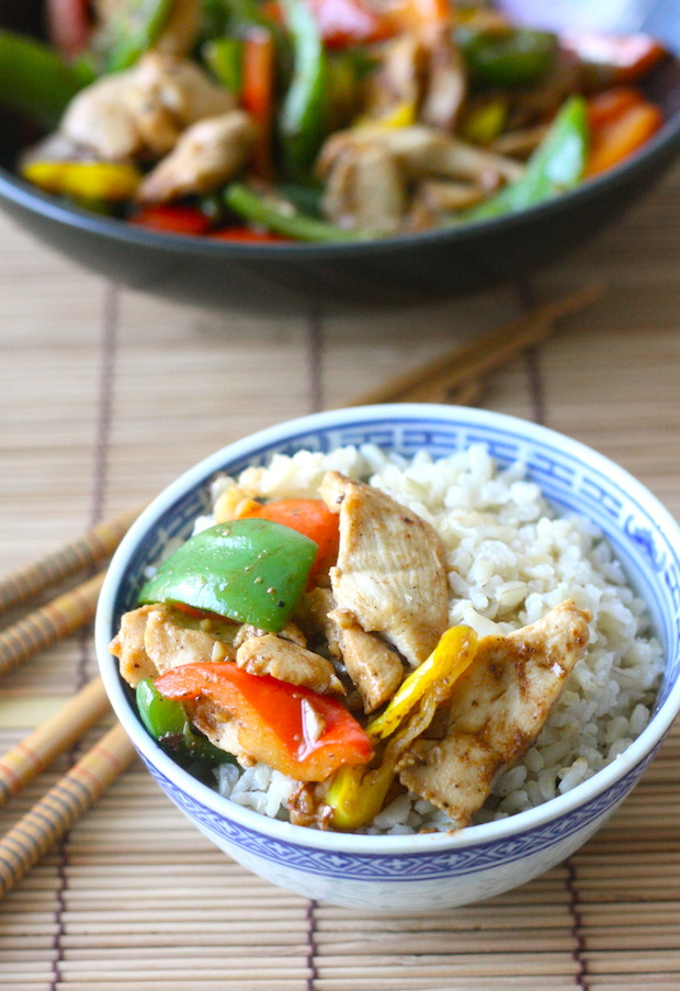 Miso Chicken with Bell Pepper with Japanese Seven Spice recipe by ...