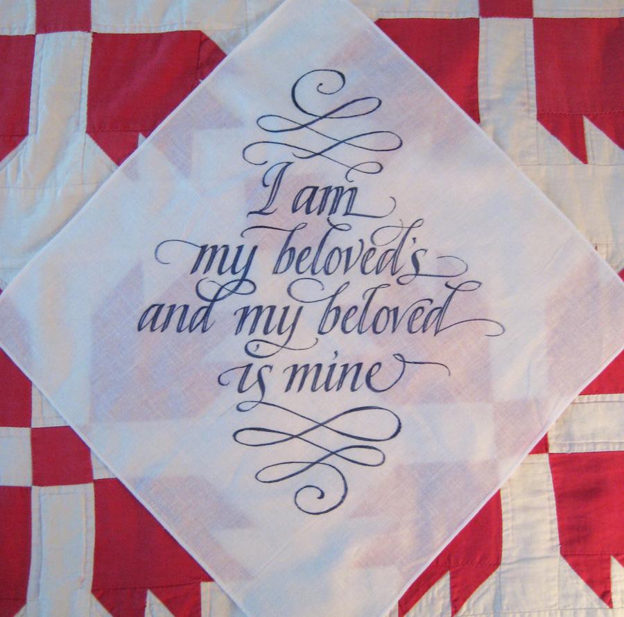 fabric painting designs on handkerchief