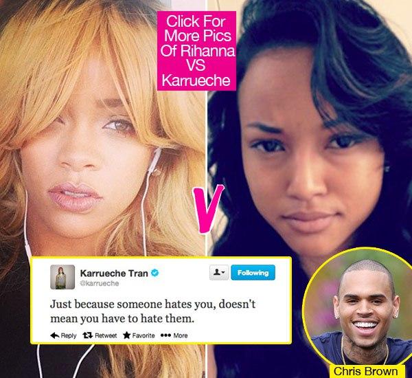 Karrueche Tran And Rihanna Physical Fight AshBuzz