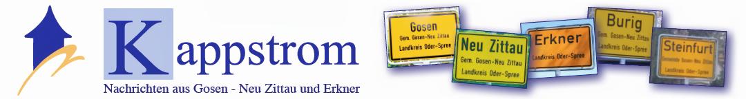 Kappstrom.de  -   Gosen-Neu Zittau Blog