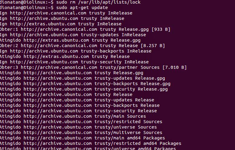 Atualização do Sistema Ubuntu