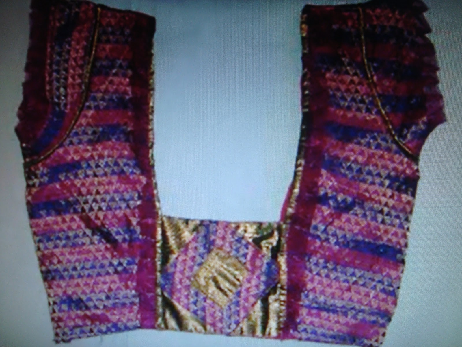 banarasi pattu blouse