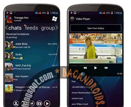 Download BBM2 Mod WP Watch Video Player apk