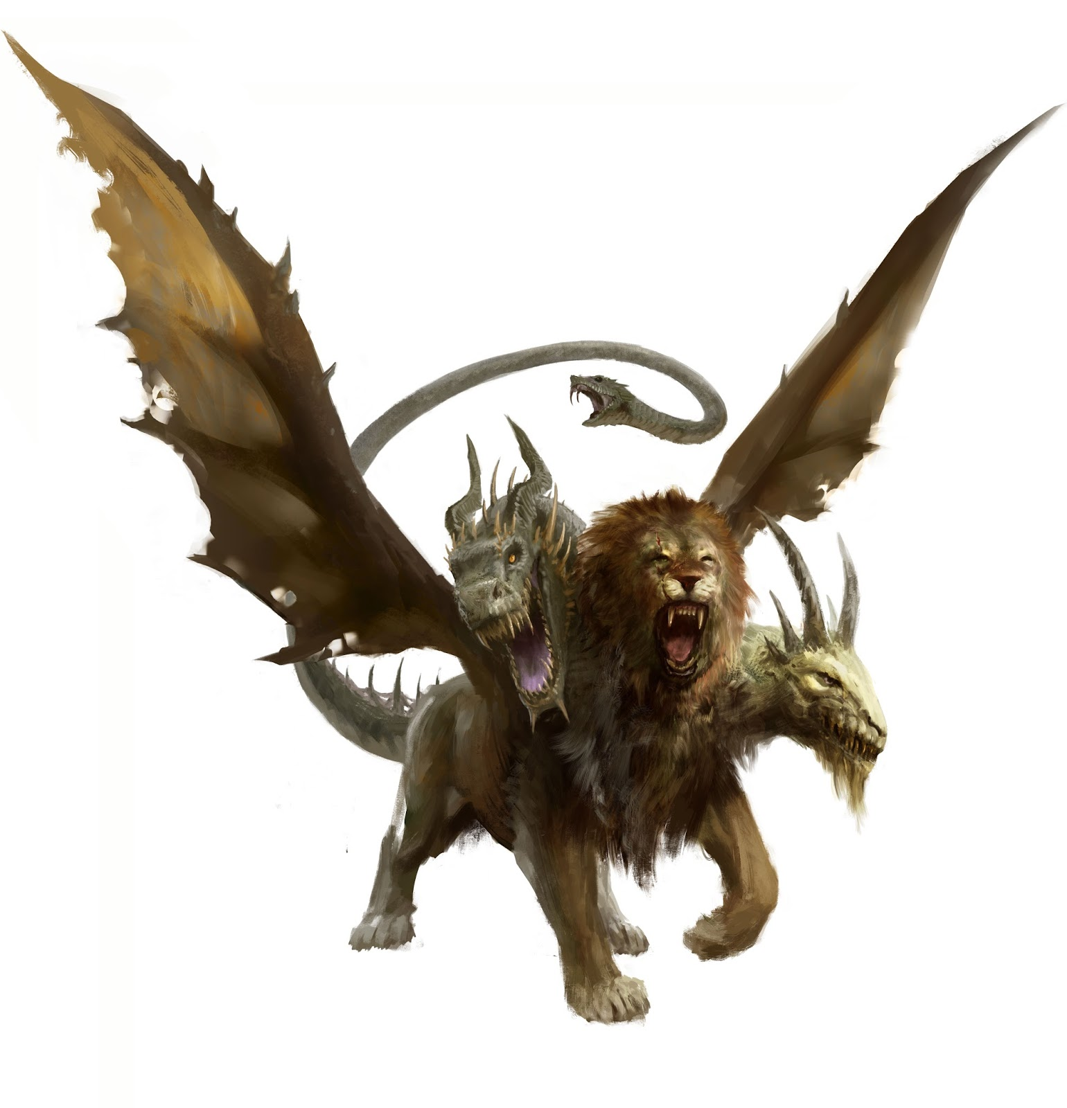 Monstruos de Rango B Quimera4