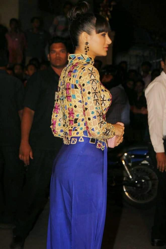 Nargis Fakhri at Filmfare Awards 2014 Photos