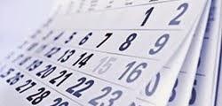 Kalendar takmičenja u BiH