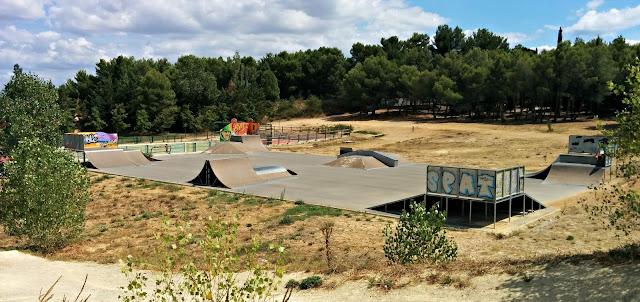 Skatepark le crès nouveau