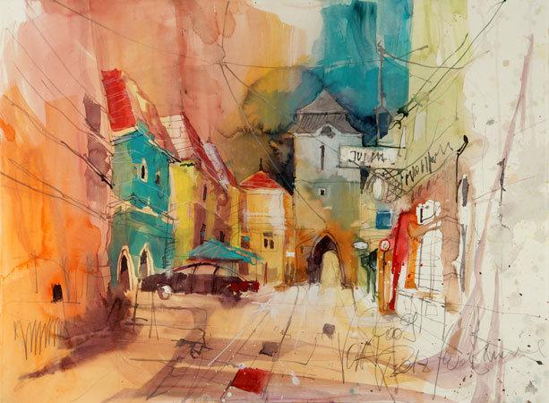 TAFI MAG Voka Water Colour Paintings